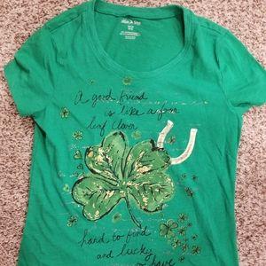 Women's St. Patrick's Day shirt